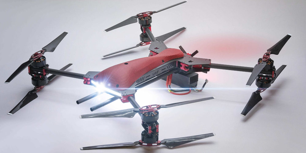 ViraCopter 4x8 RedKite 750 Oktokopter Drohne mit bis zu 5 kg Payload